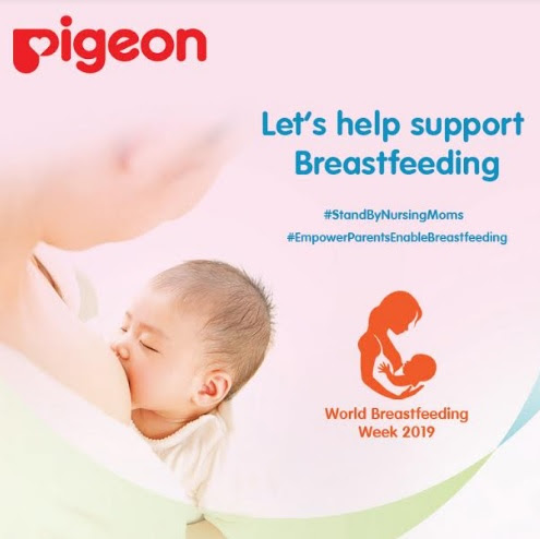 Pigeon India Initiated StandByNursingMoms Campaign for World Breastfeeding Week