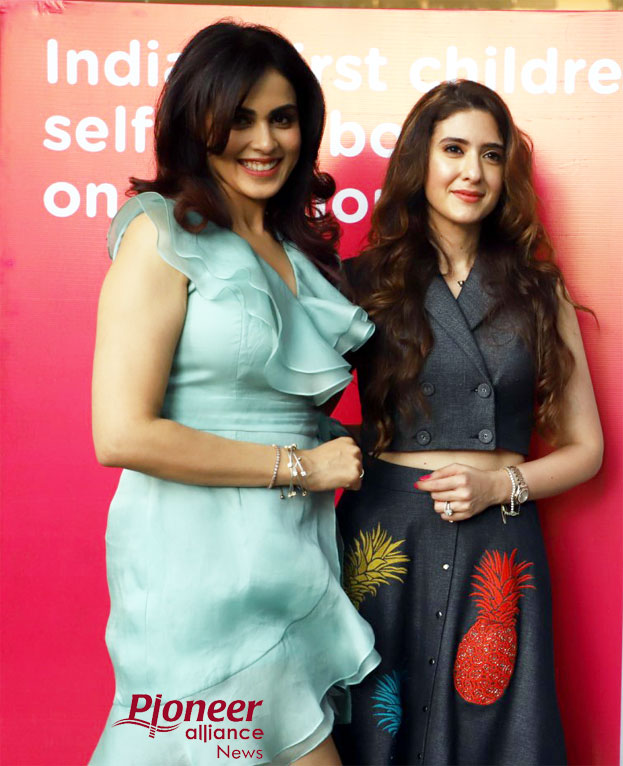 Genelia Deshmukh Launch of N for Nourish Your body and Food by Pooja Makhija