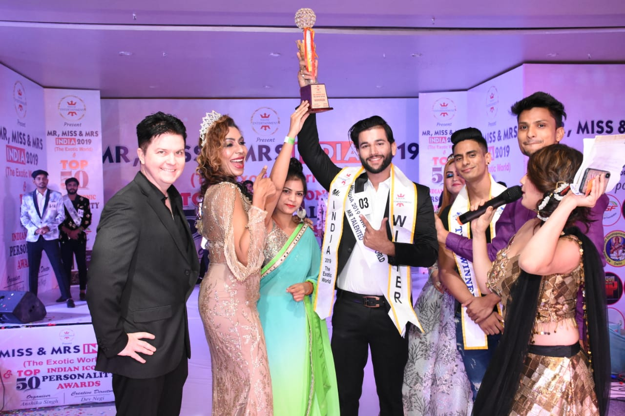 Exotic entertainment presen Mr, miss & mrs India 2k19 the exotic world